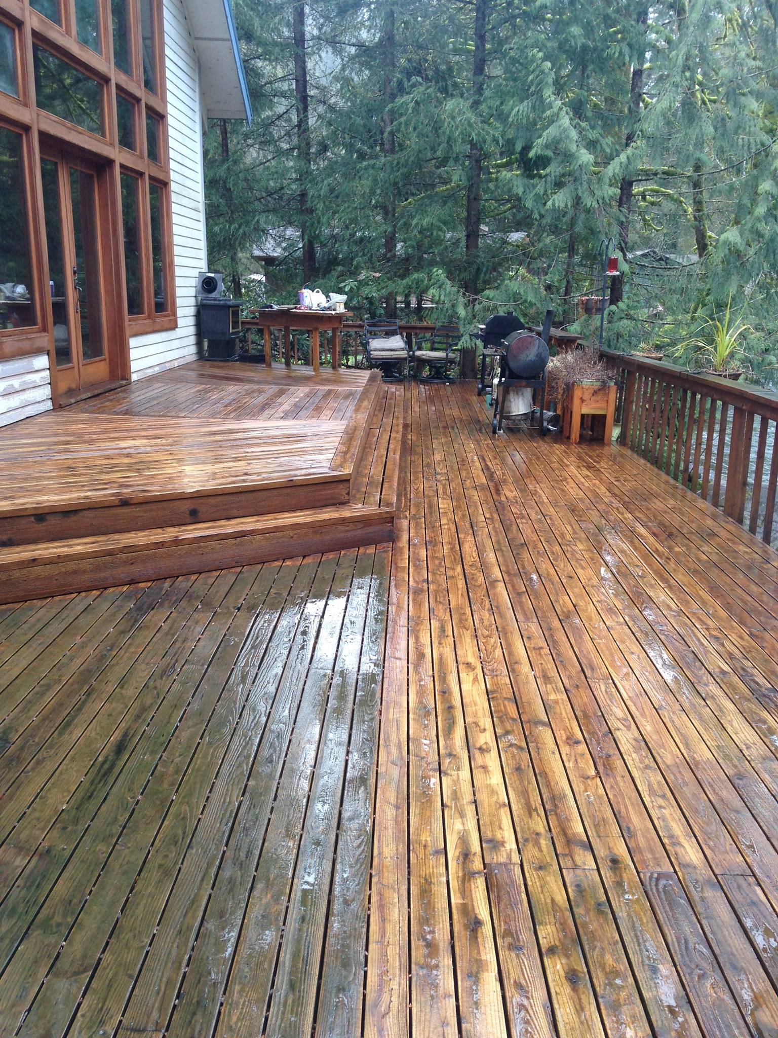 GutterSuckers, Inc after deck cleaning. We offer quality home improvement services at pocket friendly pricing. Talk to us today.