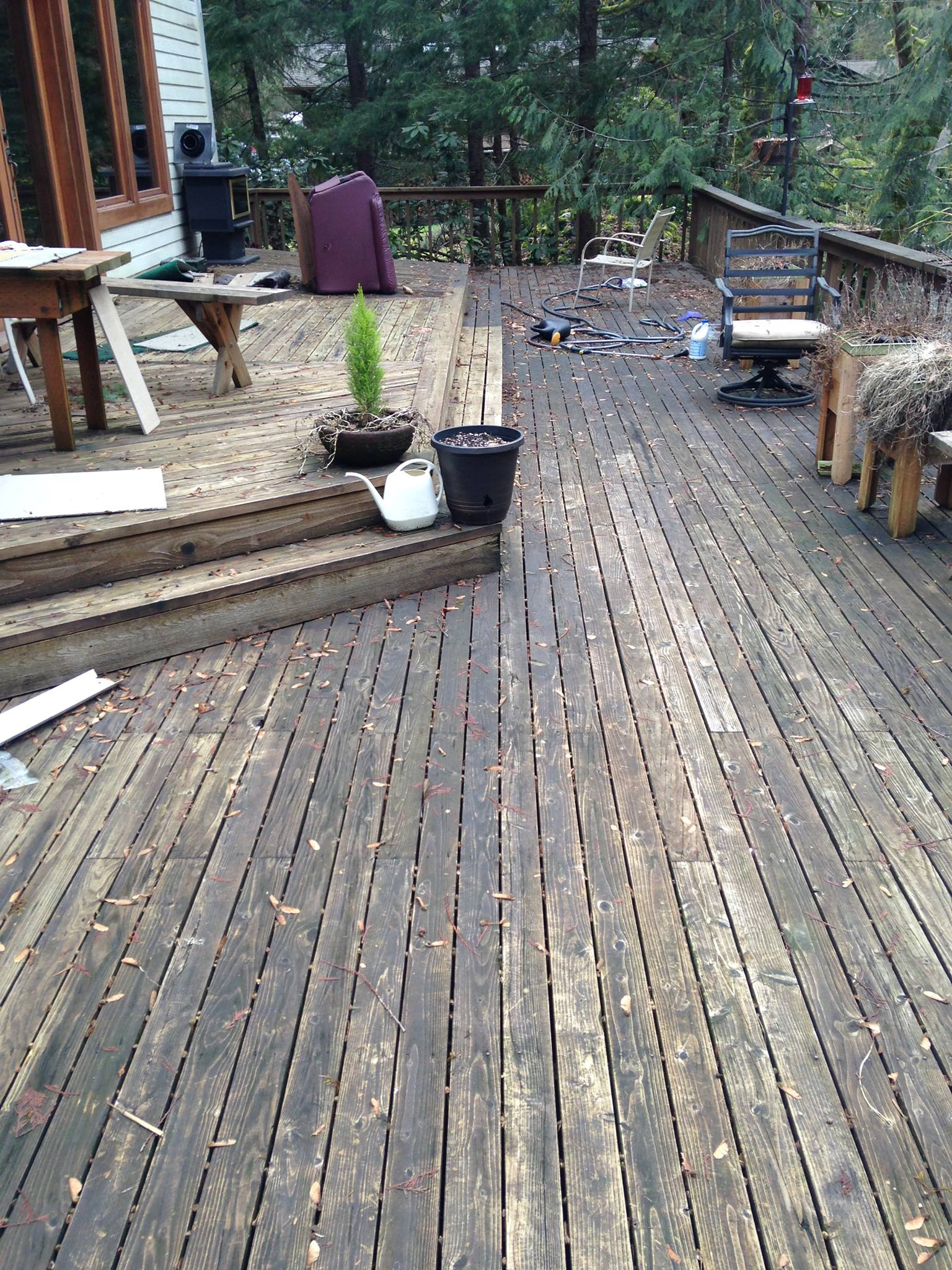 GutterSuckers, Inc have been working in the deck cleaning industry for years. See before and after, amazing difference. Try our services today.